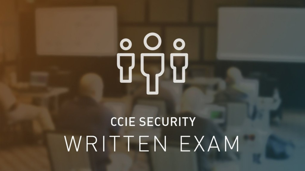 CCIE Security Written Exam