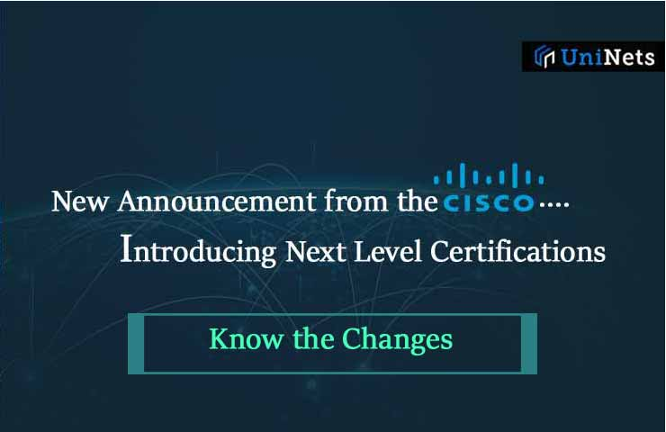Breaking News from Cisco for Certification Changes