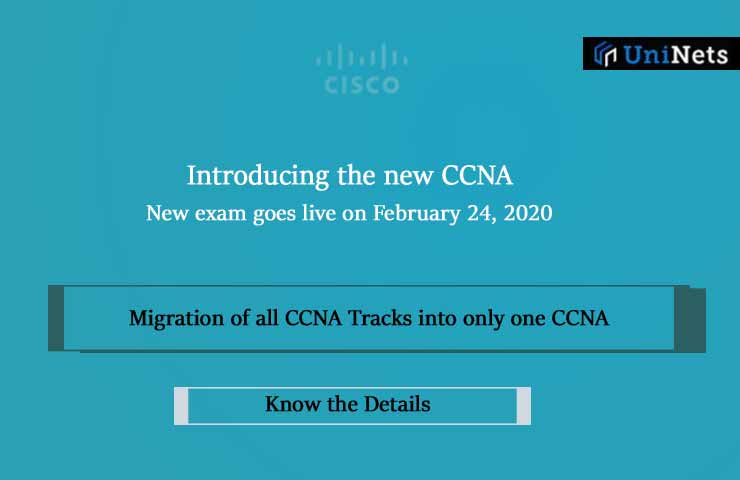 Cisco Introducing new CCNA certification
