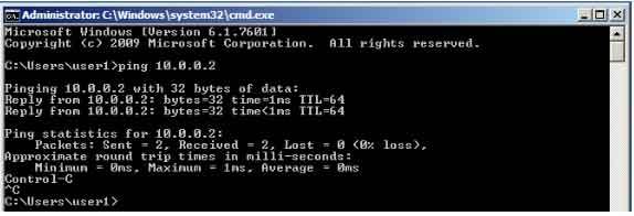 Ping firewall 1