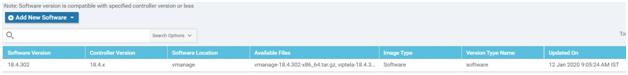 4 SD WAN software upgrade image