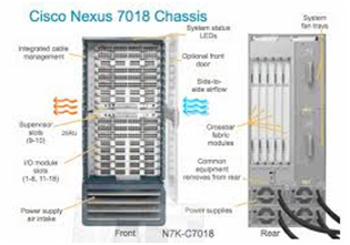Cisco Nexus 7018 Switch chassis