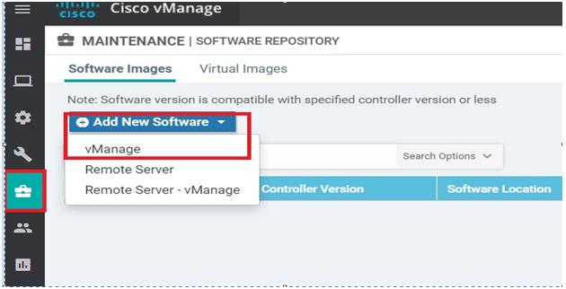 SD-WAN Cisco VManage image 2